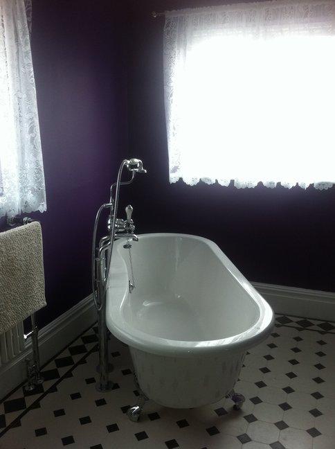 Victorian Style Bathroom Specialist Standard Tiling West London