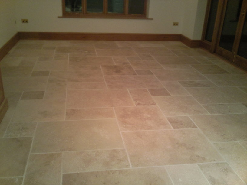 Roman Opus Stone Tiled Floor Specialist Standard Tiling West London