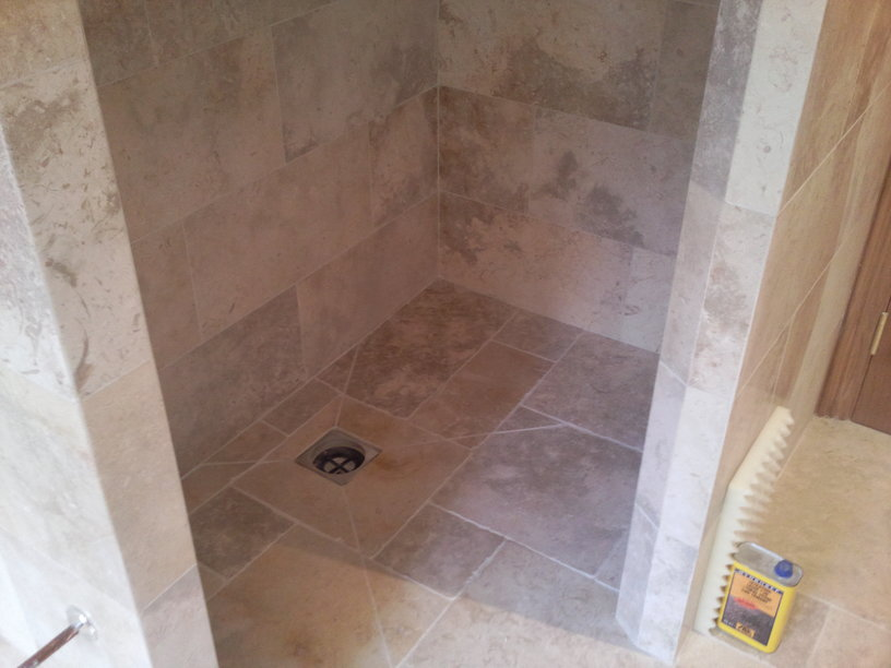 Stone Tiled Bathroom Specialist Amp Standard Tiling West